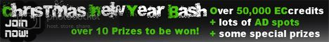 contestbanner468x60 Christmas and New Year Bash huge contest for bloggers!