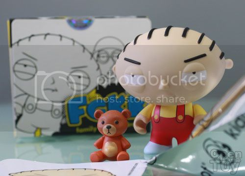 Stewie Griffin &amp; Rupert Toy from Kidrobot